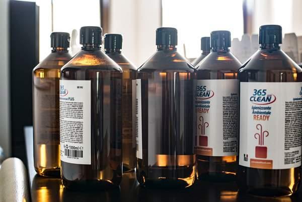 Il clean 365 pronto per essere spedito al reparto infustaggio di Biolife