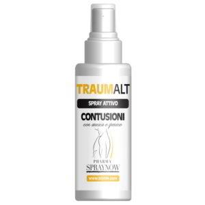 Traumalt soluzione in spray contro le contusioni ed ematomi